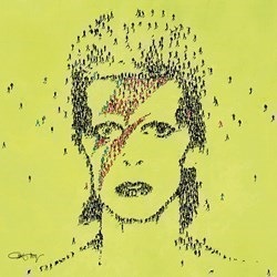 Starman by Craig Alan - Dye Sublimation sized 12x12 inches. Available from Whitewall Galleries